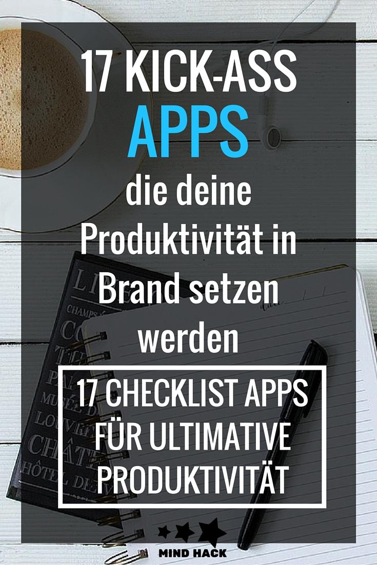 Apps Produktivität