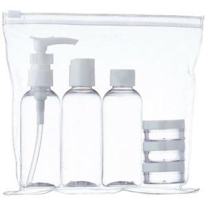 Minimalistisch Packen Handgepäck Reisepackungen Hygiene Shampoo Duschen