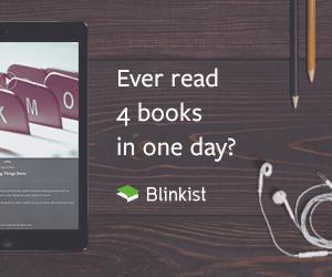 Blinkist - 4 Bücher an einem Tag lesen