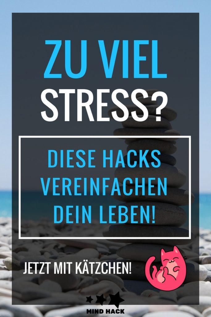 Zu viel Stress - Diese Hacks vereinfachen dein Leben