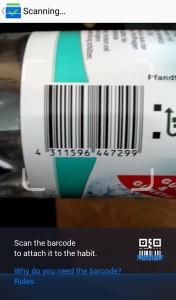 Barcode Scanner - Rechtzeitig ins Bett gehen