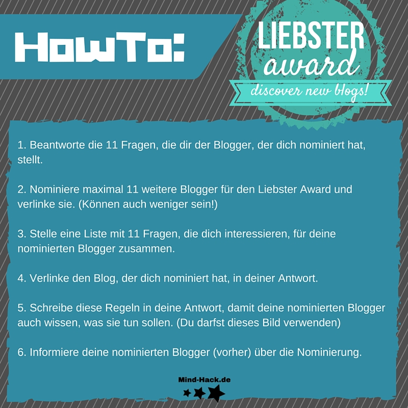 HowTo- LIEBSTER AWARD