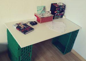 10 Hacks für mehr Geld - Schreibtisch selbst bauen